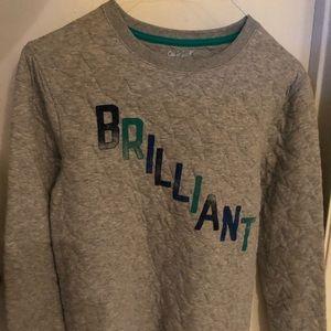 """Boys sweatshirt top """"Brilliant"""""""